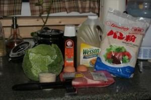 The ingredients!