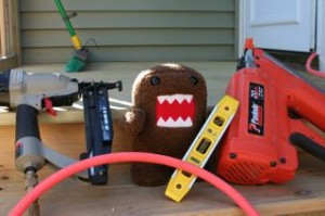 Domo and his tools!!! haha