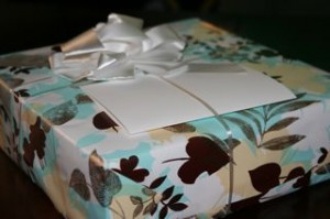 Ohhhh pretty wrapping!