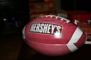 This is a football candy dish?