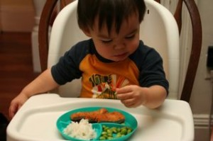 Exactly what we figured, Noby went right for the edamame.