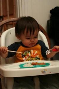 Fork or chopstick?