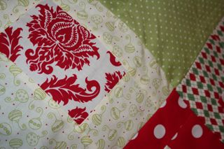 One of the Xmas fabric!