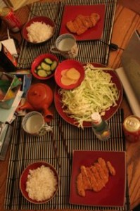 YUMMY! Our dinner!