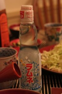 Even Japanese soda!