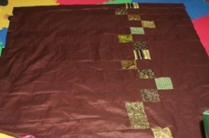The back part of my quilt.
