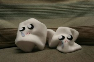 My sad little used tissues! (Aren't they soo cute!!!!)